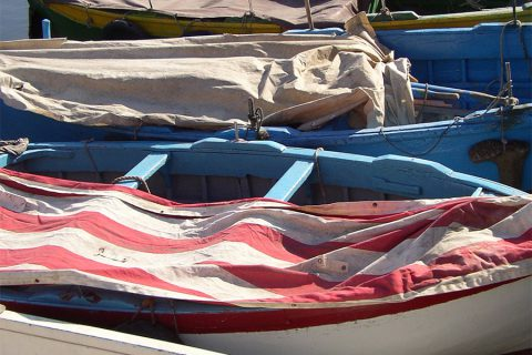 italy boats 3 colorful