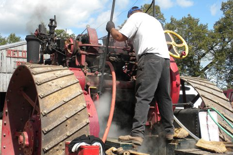 steam show tractor